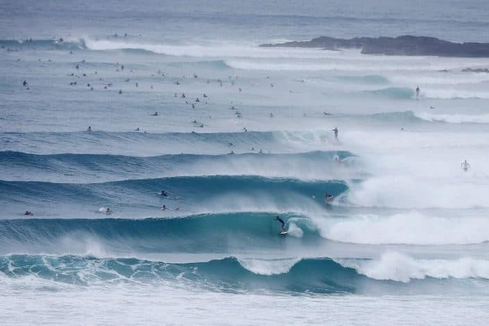 Snapper Rocks, Gold Coast.  Photo by Chris Hyde/Getty Images