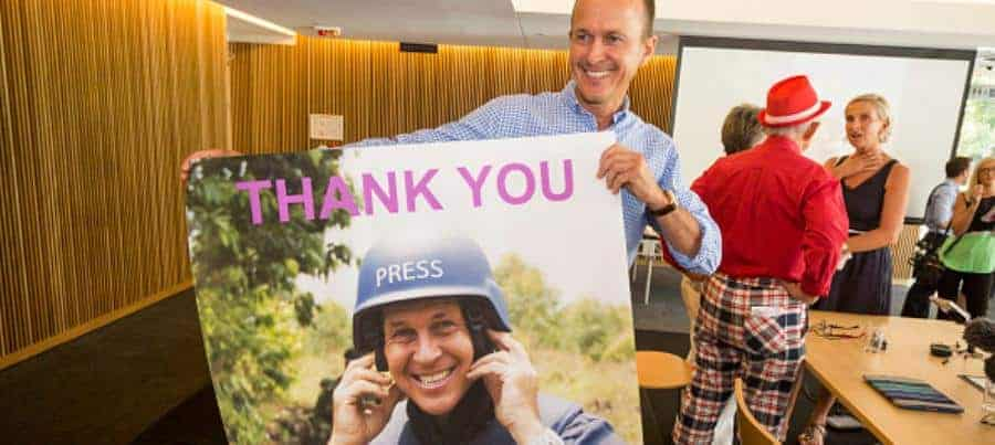 Peter Greste - free - Getty 462640298