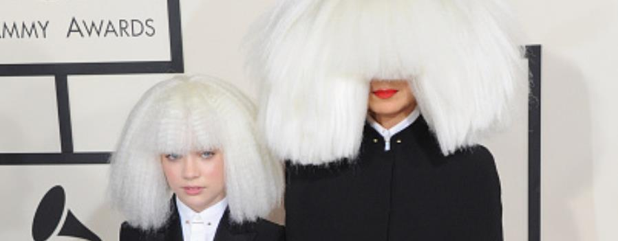 Sia at the Grammys 2015