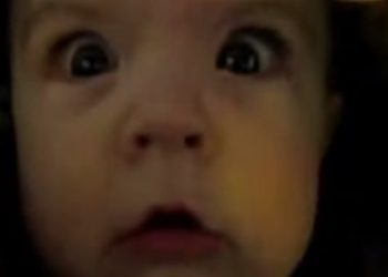 babies going through tunnels video