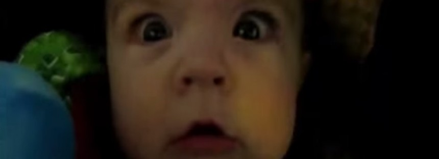 Babies going through tunnels [FUNNY VIDEO]
