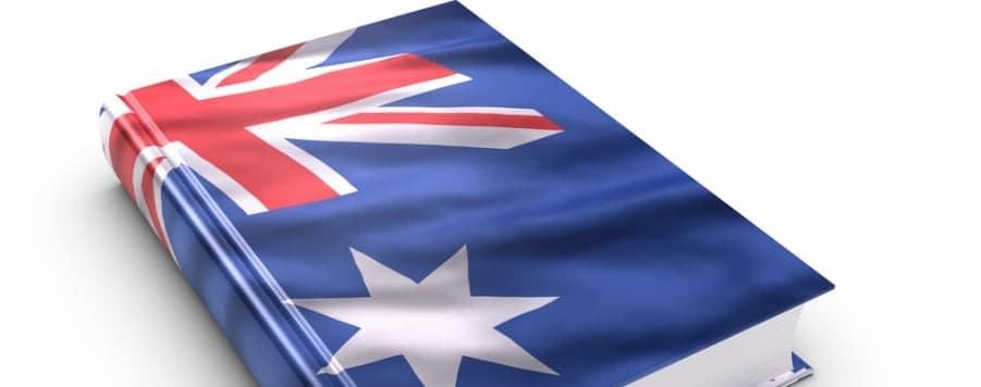 Australian English dictionary