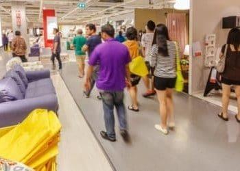 IKEA hide and seek