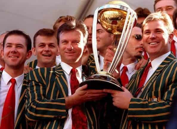 Australia Cricket World Cup winners 1999