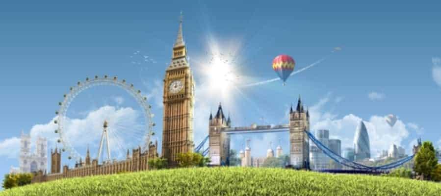 London in spring