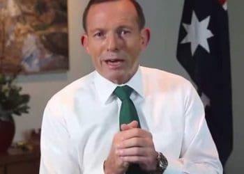 St Patrick's Day Tony Abbott video