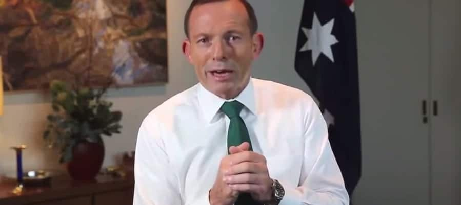 St Patrick's Day Tony Abbott video