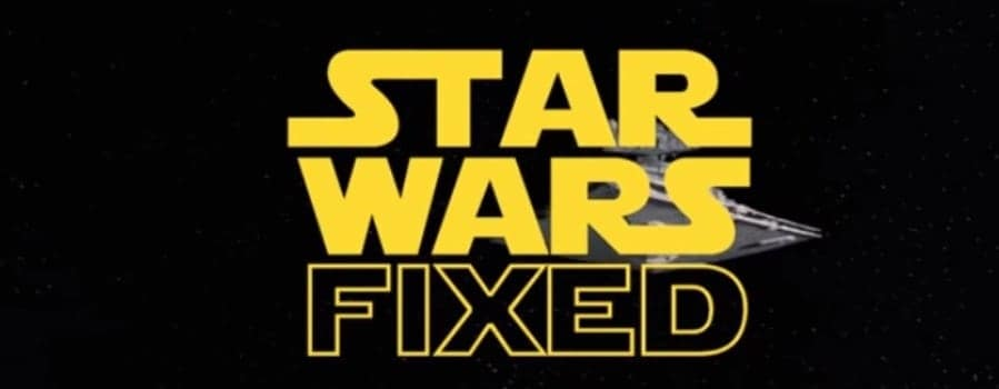 Star Wars fixed