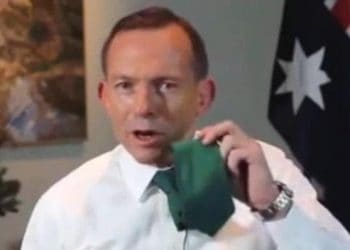 Tony Abbott st patricks day message 2015