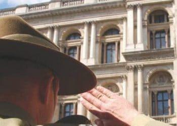 Anzac day in London