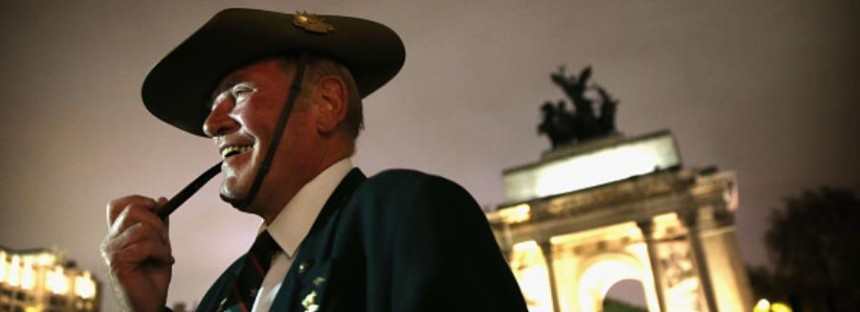 Centenary Anzac Day in London will forever live in our memories