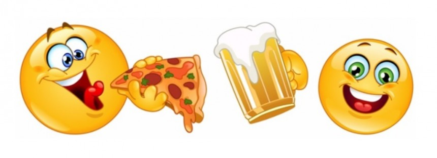 Aussie emoji use shows a taste for the finer things in life (like booze and junk food)