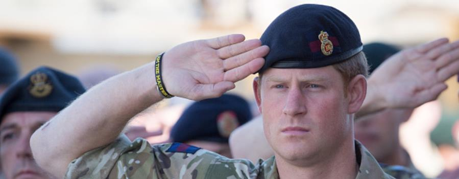 Prince Harry - military - Getty 458687246