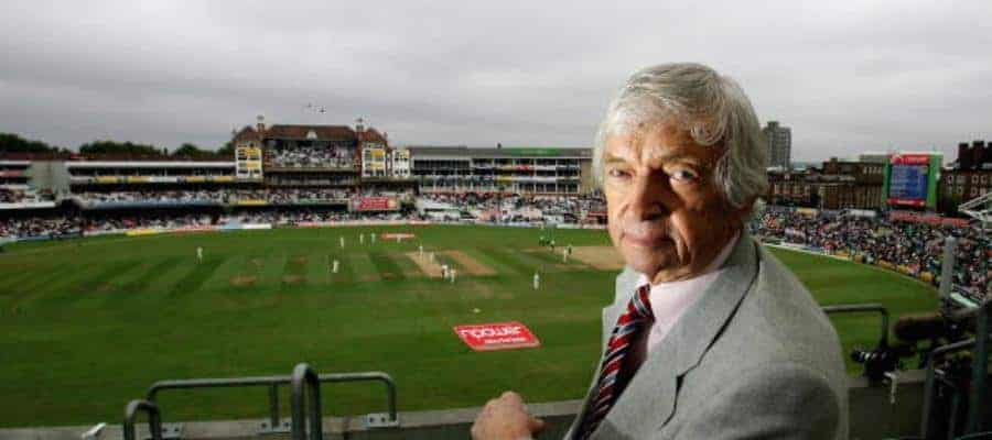 Richie Benaud at the Oval