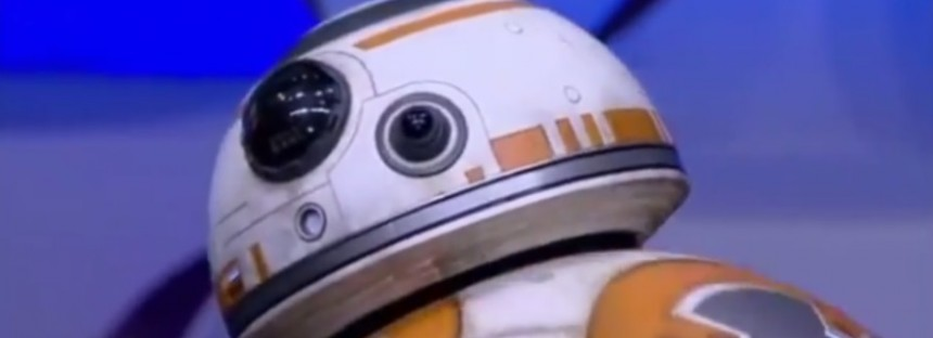 Star Wars BB8 ball droid is real, not CGI. And here's the proof