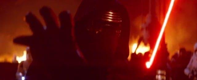 Star Wars The Force Awakens trailer - Kylo Ren
