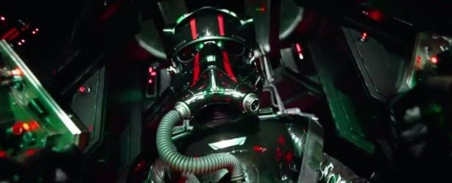 Star Wars The Force Awakens - TIE fighter pilot