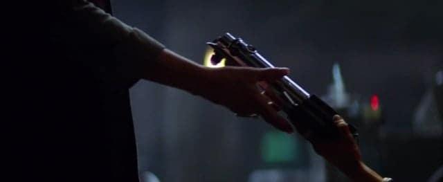 Star Wars The Force Awakens new trailer - lightsaber