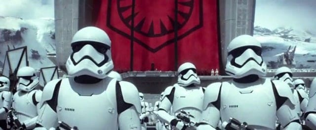 Star Wars The Force Awakens new trailer  - stormtroopers