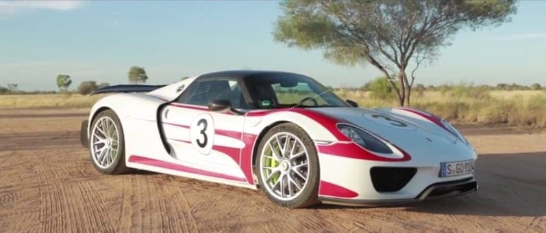porsche 918 spyder reaches 350 km h in the australian outback video australian times. Black Bedroom Furniture Sets. Home Design Ideas