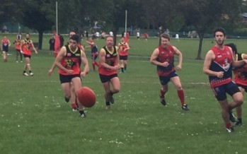 AFL London: determined Demons keeps Lions at bay