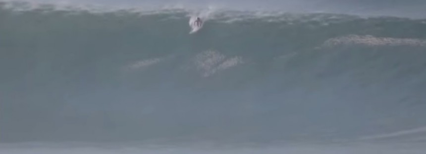 Crazy wipeout in gigantic Mexico surf [VIDEO]