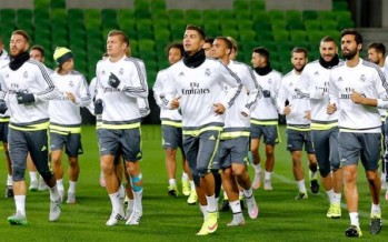 Real Madrid loves training in Melbourne