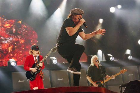 AC/DC Perform at Wembley Stadium, London