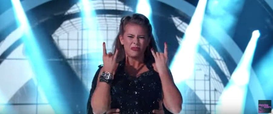 Bindi Irwin - ACDC - Dancing with the stars - DWTS