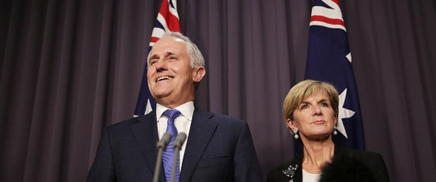 Malcolm Turnbull prime minister-elect