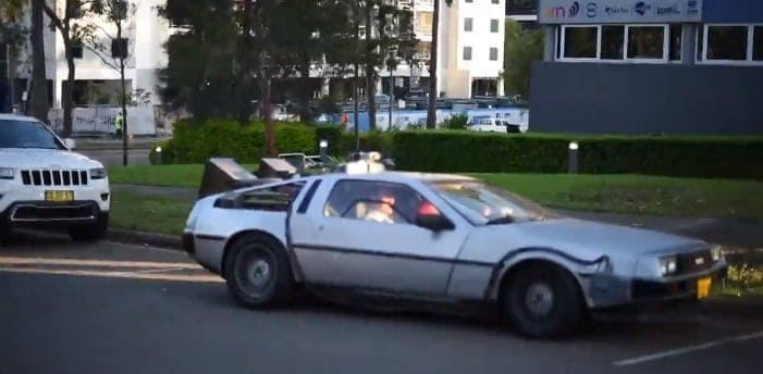back to the future - mike baird - 1