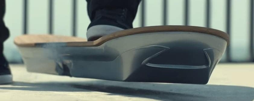 Lexus's real life hoverboard. Yes, really, really, totally real!