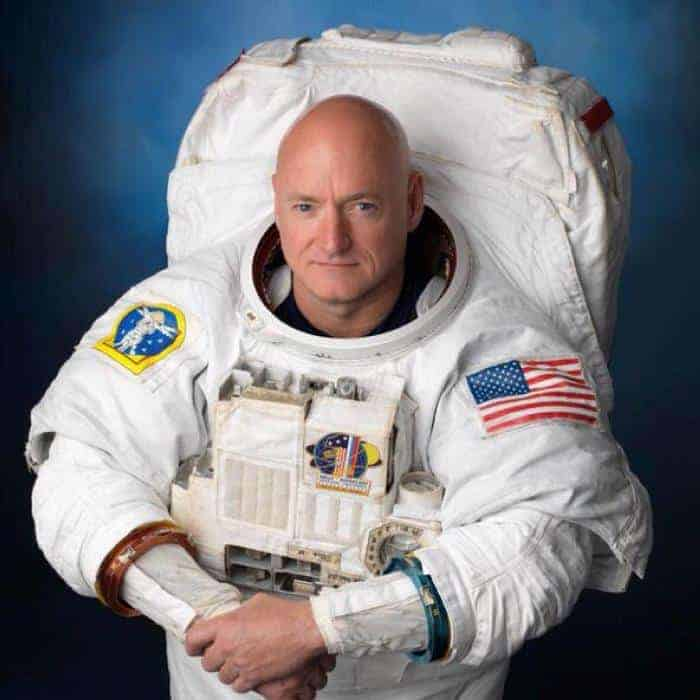 NASA astronaut Scott Kelly is on a one year mission aboard the ISS.
