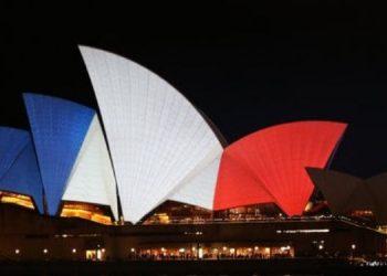 sydney opera house paris terror attacks