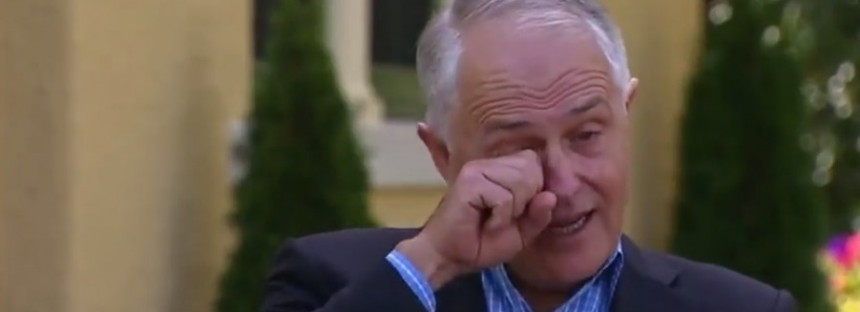 Turnbull moved to tears over Indigenous woman's lullaby