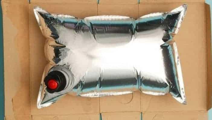 wine cask pillow open