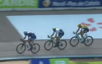 One of the most exciting cycling finishes you will ever see… [VIDEO]