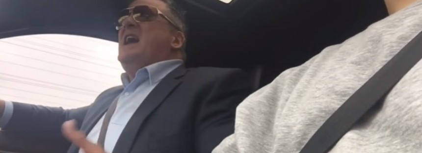Australia's 'Angry Dad' goes absolutely ballistic in 'honk if you're horny' prank
