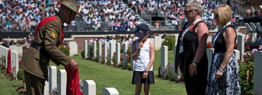 Worst day in Australia's history remembered at Fromelles