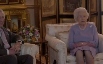 The Queen 'responds' to Brexit, throws some shade at Dave and Boris [WATCH]