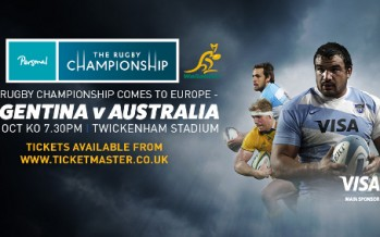 Argentina's Pumas taking on Australia's Wallabies in London