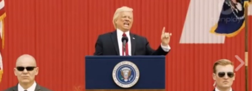 The Aussie Donald Trump advert banned in the US [WATCH]