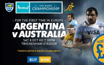 International Rugby at Twickenham – £20 Tickets Available