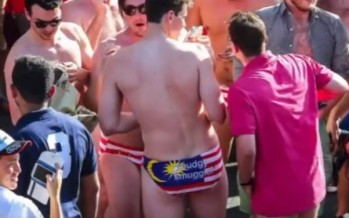 Budgie smuggler bandits could face two years jail after Malaysia GP strip [WATCH]
