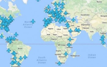 Awesome map of free wi-fi passwords at airports around the globe
