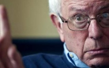 """Bernie Sanders says Donald Trump's """"Dangerous"""" nuclear arms race talk must be challenged"""