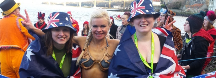Aussies and Kiwis complete 'record year' at Hogmanay and Loony Dook New Year's celebrations