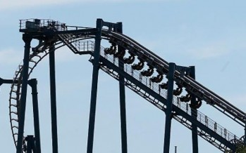 Thrillseekers trapped in Movie World rollercoaster malfunction