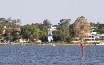 Australia Day plane crash: aircraft plunges into Perth river [WATCH]