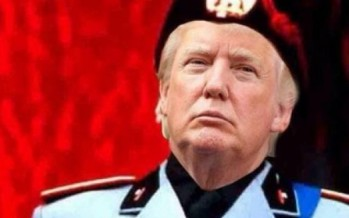Me the People! Narcissist U.S. President Donald Trump rewrites the Constitution